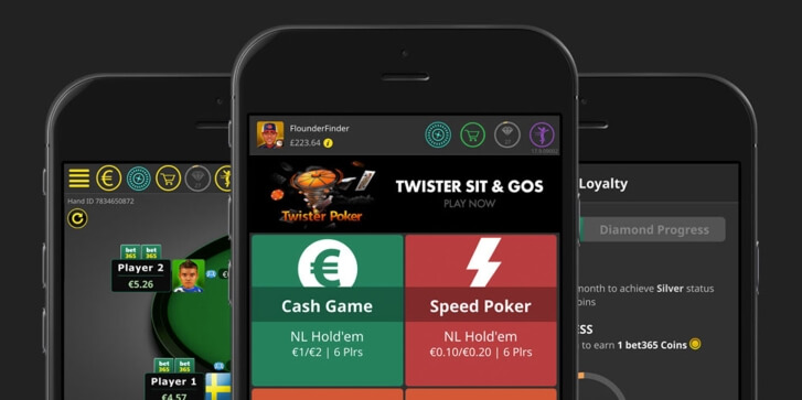 Bet365 mobile poker app